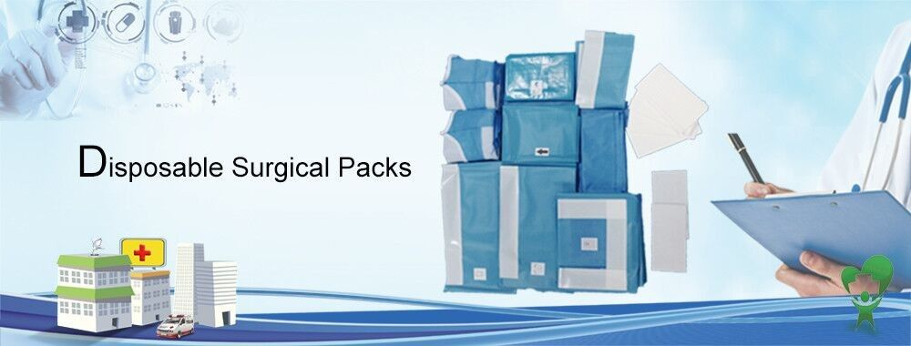 China best Disposable Surgical Packs on sales