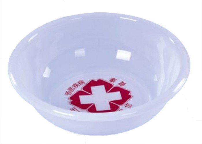 White Color Disposable Kidney Bowls Latex Free Medical Polymer Materials