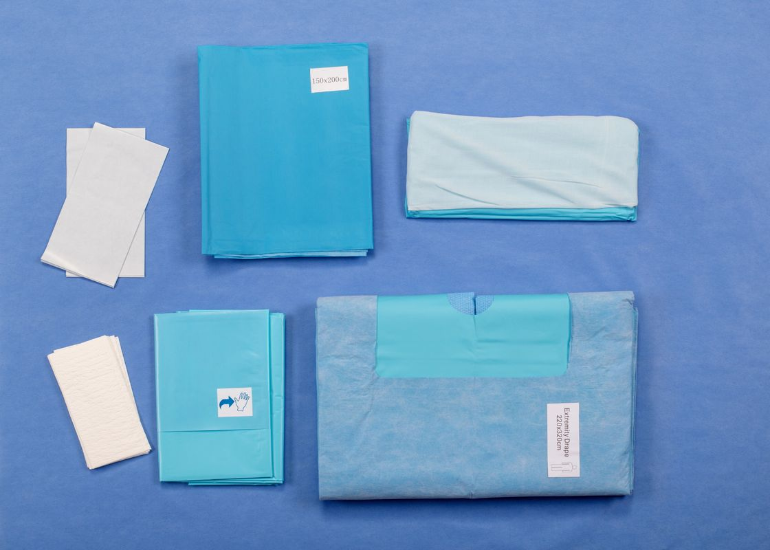 Extremity Arthroscopy Disposable Surgical Packs With Disposable Draw Sheet Shoulder Surgery Ankle Set