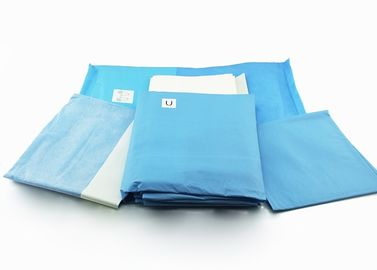 Medical Sterile Surgical Packs Lower Extremity , Hand Leg Drape Angiography Pack