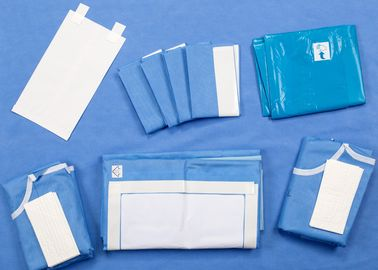 C Section Custom Surgical Packs With Collecting Bag For Caesarean Baby Birth Surgery
