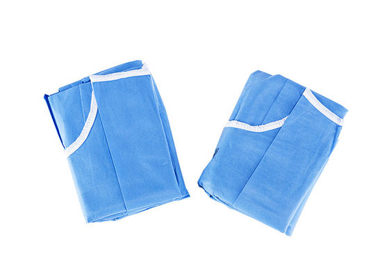 Single Use Non Woven Hospital XXL Disposable Surgical Gown